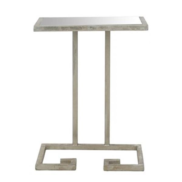 Safavieh Murphy 21-in Silver Accent Table