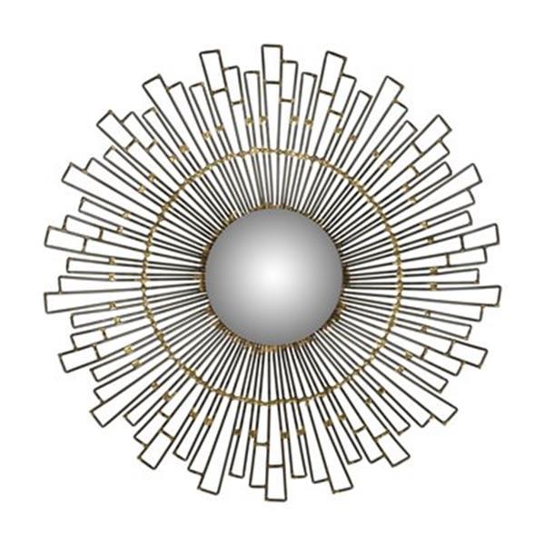 Safavieh 20-in x 20-in Natural Iron Starlight Mirror