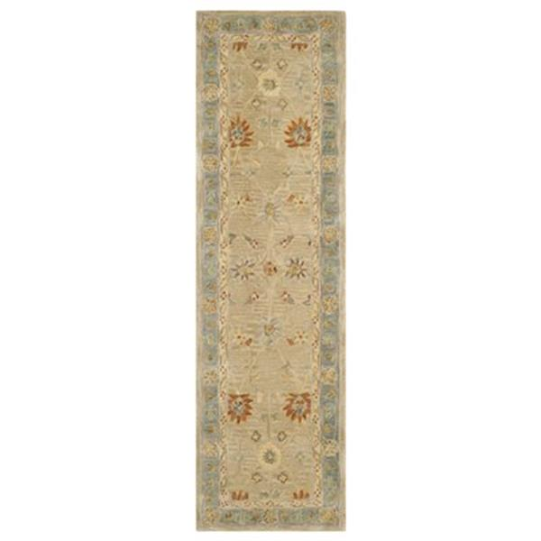 Safavieh Anatolia 8-ft x 2.25-ft Taupe and Grey Area Rug