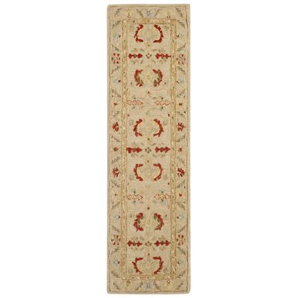 Safavieh Anatolia 8-ft x 2.25-ft Beige and Beige Area Rug