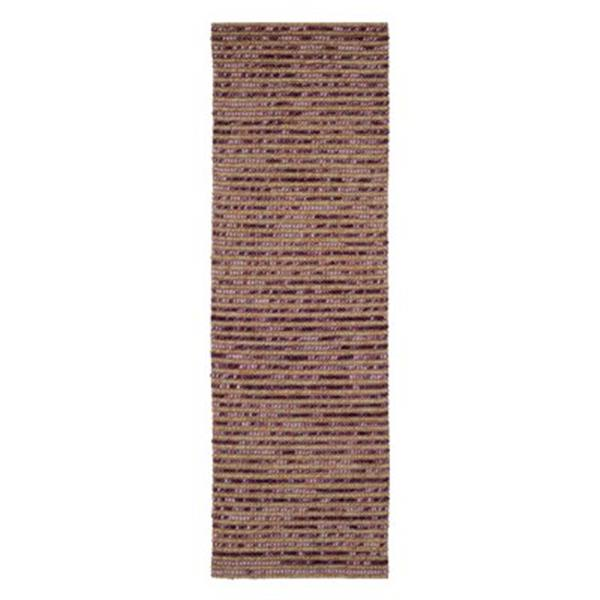 Safavieh Bohemian 3-ft x 8-ft Purple and Multi-Colored Rectangular Striped Woven Area Rug