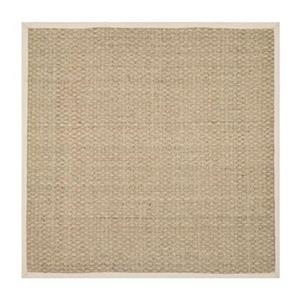 Safavieh Natural Fiber 6-Ft x 6-ft Natural and Ivory Area Rug