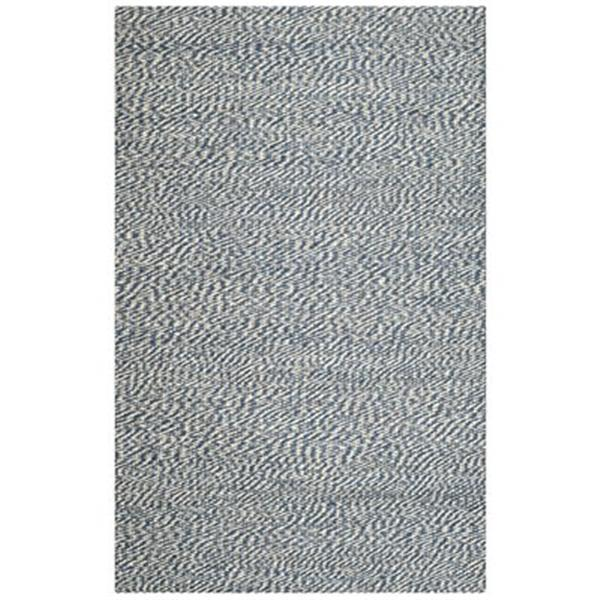Safavieh Natural Fiber 6-Ft x 6-ft Blue and Ivory  Area Rug
