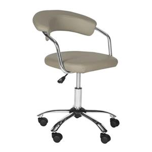 Safavieh Fox 21.1-in Grey Pier Desk Chair