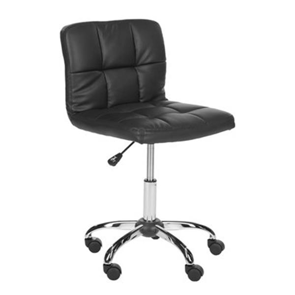 Safavieh 36.2-in Black Brunner Desk Chair