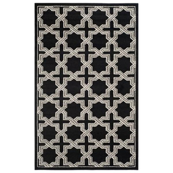 Safavieh Amherst 8-ft x 5-ft Anthracite and Grey Area Rug