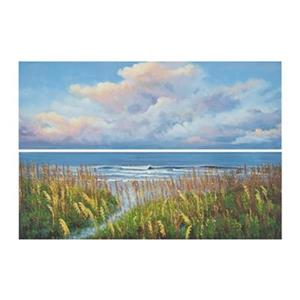 Safavieh 32-in x 42-in Beach Walk Diptych Wall Art