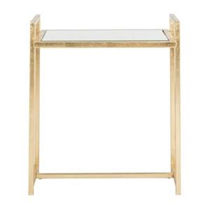 Safavieh Fox Renly 22.1-in Gold End Table