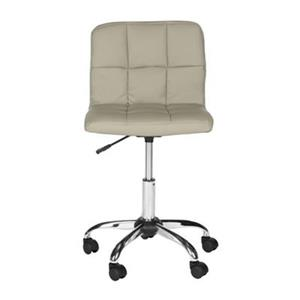 Safavieh Fox 23.8-in Grey Brunner Desk Chair