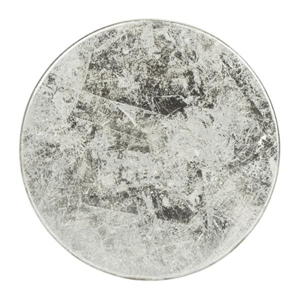 Safavieh Kenzie 24-in Silver Dipped Bar Stool