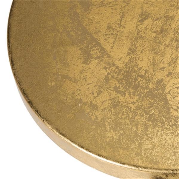 Safavieh Emery 24-in Dipped Gold Leaf Bar Stool