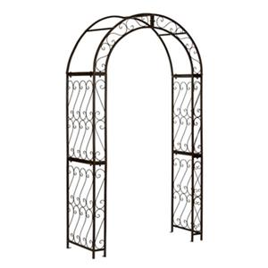 Safavieh 84-in x 48.5-in Rustic Brown Pagan Garden Arch