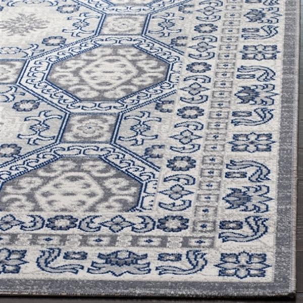 Safavieh Artisan 5-ft x 8-ft Silver and Blue Area Rug