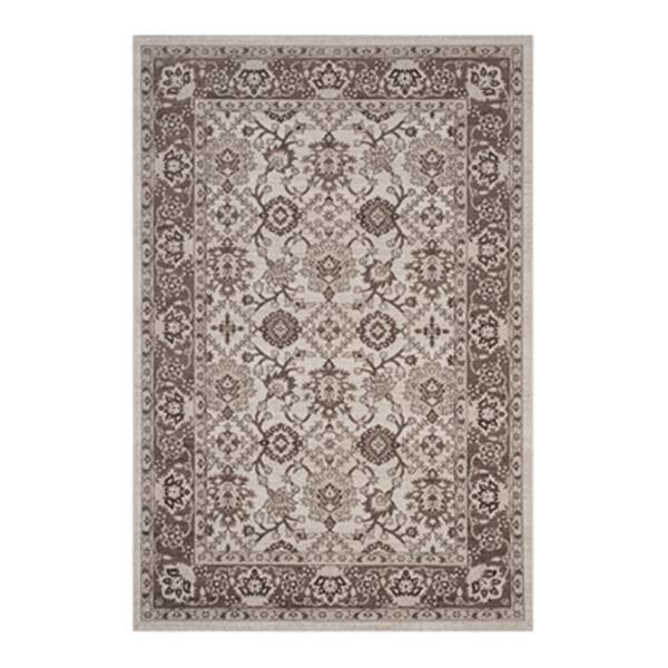 Safavieh Artisan 5-ft x 8-ft Border Ivory and Brown Area Rug