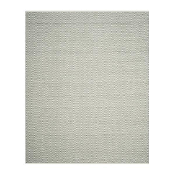 Safavieh Boston 6-ft x 6-ft Geometric Cotton Grey Area Rug
