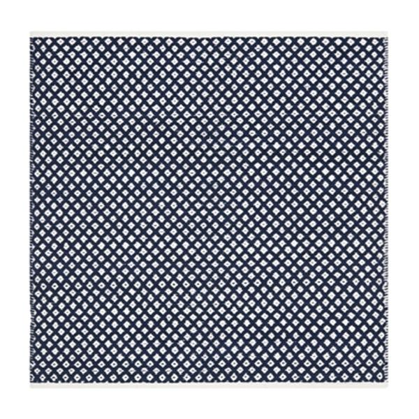 Safavieh Boston 6-ft x 6-ft Geometric Cotton Navy Area Rug