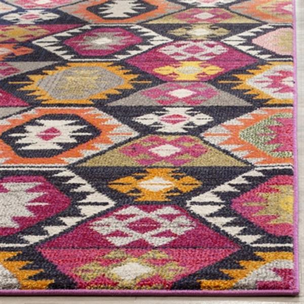 Safavieh Monaco 5-ft x 8-ft Geometric Multicolor Area Rug