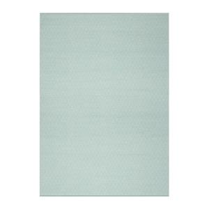 Safavieh Montauk 6-ft x 9-ft Blue Rectangular Flat Weave Ivory and Aqua Area Rug