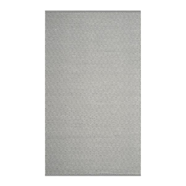 Safavieh Montauk 6-ft x 9-ft Grey Rectangular Flat Weave Ivory and Grey Woven Area Rug