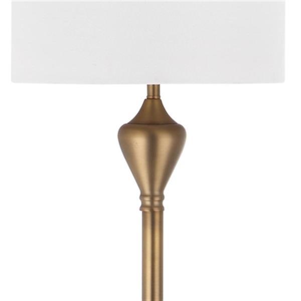 Safavieh 60.5-in Gold Xenia Floor Lamp