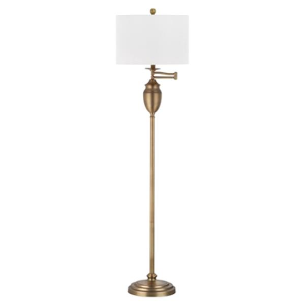Safavieh 60-in White Antonia Floor Lamp