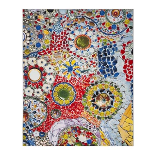 Safavieh Aztec 9-ft x 6.58-ft Light Grey and Multicolour Indoor Area Rug