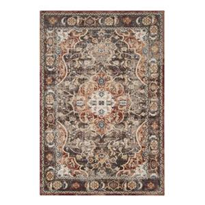 Safavieh Bijar 7.5-ft x 5.25-ft Brown and Rust Indoor Area Rug