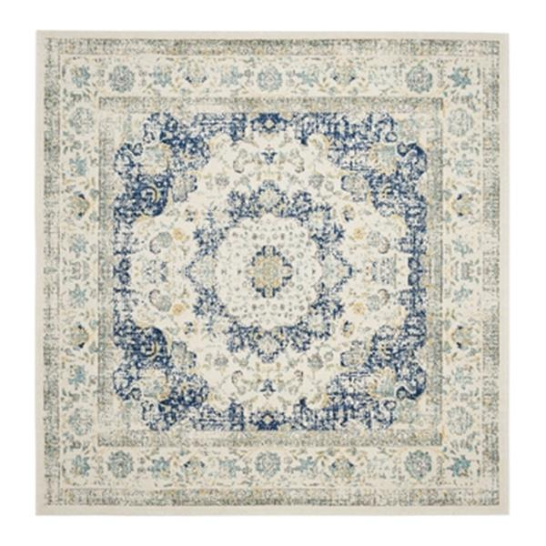 Safavieh Evoke 21-ft x 2.16-ft Grey and Ivory Indoor Area Rug