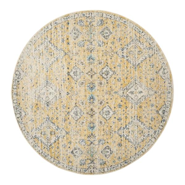 Safavieh Evoke 6.58-ft Gold and Ivory Indoor Area Rug