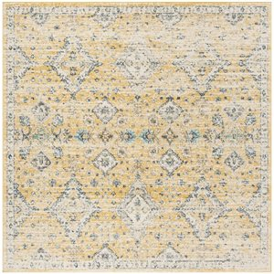 Safavieh Evoke 6.58-ft x 12.16-ft Gold and Ivory Indoor Area Rug