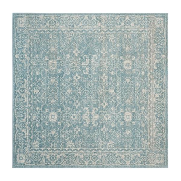 Safavieh Evoke 6.58-ft x 13-ft Light Blue and Ivory Indoor Area Rug