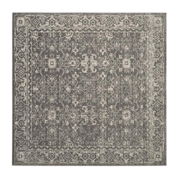 Safavieh Evoke 6.58-ft x 13.16-ft Grey and Ivory Indoor Area Rug