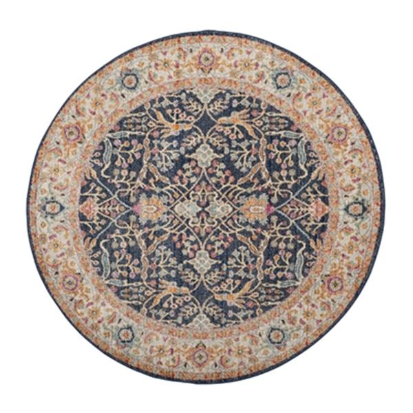 Safavieh Madison 9.16-ft x 6.58-ft Navy and Creme Area Rug