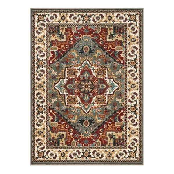 Safavieh Summit 9.16-ft x 6.58-ft Grey and Ivory Indoor Area Rug