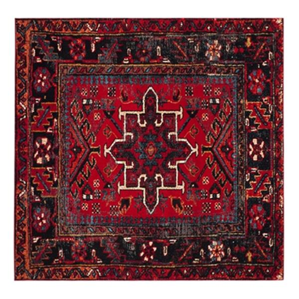 Safavieh Vintage Hamadan 6.58-ft x 14.66-ft Red and Multicolour Indoor Area Rug