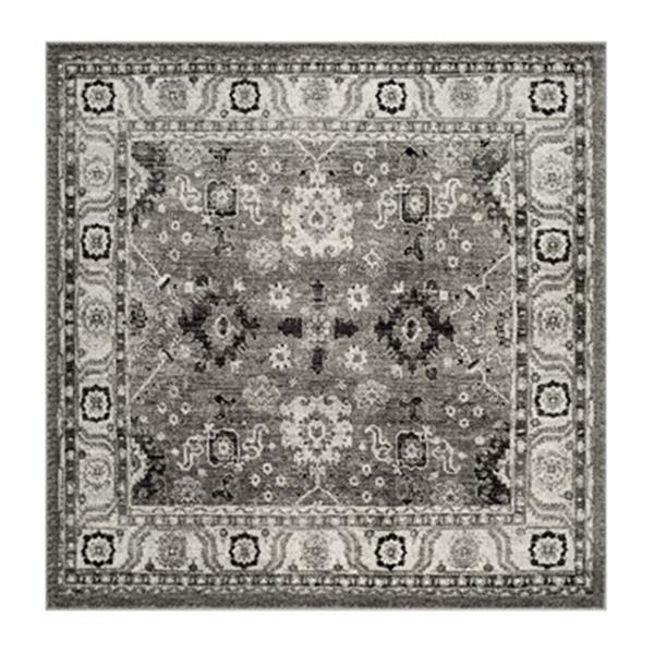 Safavieh Vintage Hamadan 6.58-ft x 15.08-ft Dark Grey and Black Indoor Area Rug