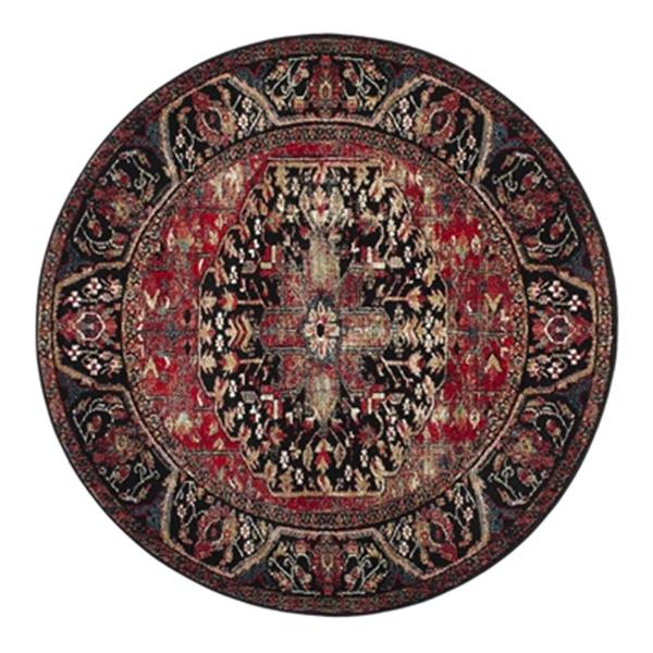 Safavieh Vintage Hamadan 6.58-ft Red and Multicolour Indoor Area Rug