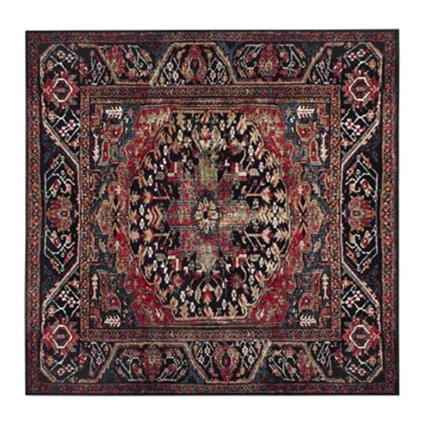 Safavieh Vintage Hamadan 6.58-ft x 15.41-ft Red and Multicolor Indoor Area Rug