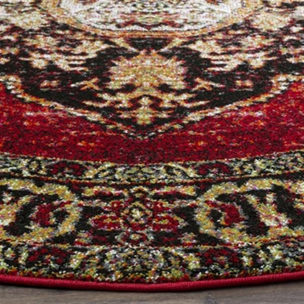 Safavieh Vintage Hamadan 6.58-ft Orange and Multicolour Indoor Area Rug