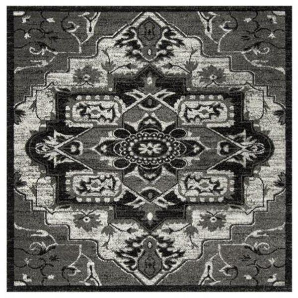 Safavieh Vintage Hamadan 6.58-ft x 15.58-ft Light Grey and Grey Indoor Area Rug