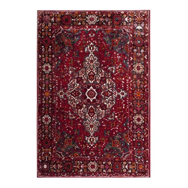 Safavieh Vintage Hamadan 6.58-ft x 15.66-ft Red and Multicolour Indoor Area Rug