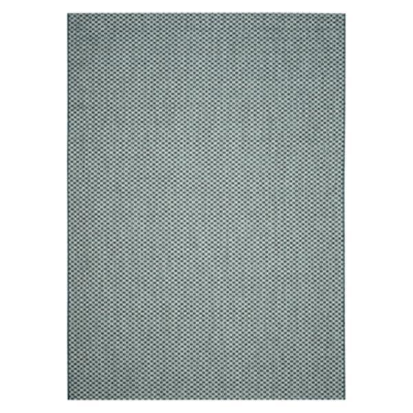 Safavieh Courtyard 7-ft x 10-ft Rectangle Turquoise/Light Grey Indoor/Outdoor Area Rug