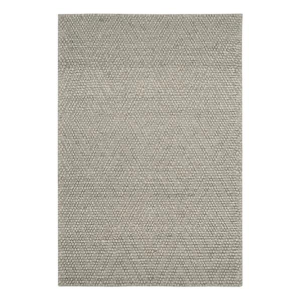 Safavieh Natura 6-ft x 4-ft Silver Hand Tufted Area Rug