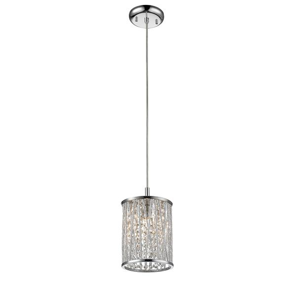 Z-Lite Terra 1-Light Pendant Light - Chrome