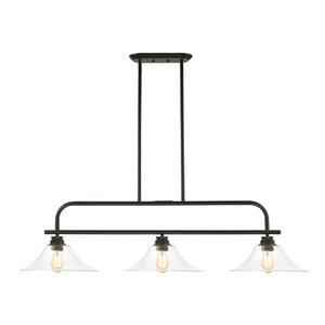 Luminaire suspendue à 3 lumières  Annora, bronze