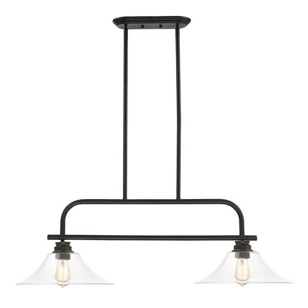 Luminaire suspendue à 2 lumières Annora