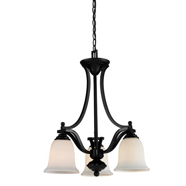 Z-Lite Lagoon Bronze 3-Light Chandelier