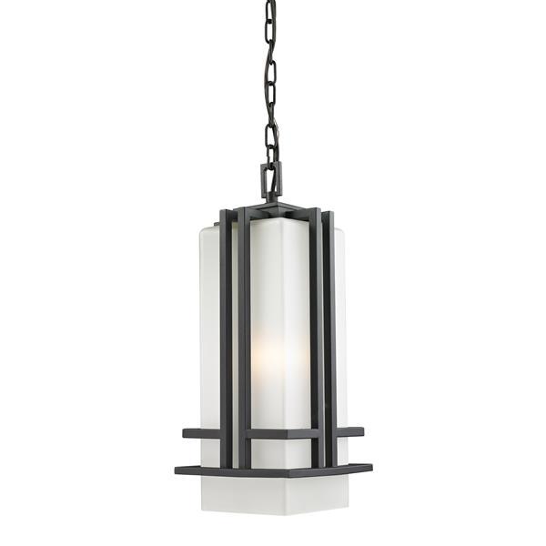 Z-Lite Abbey Outdoor Suspended Light - Black