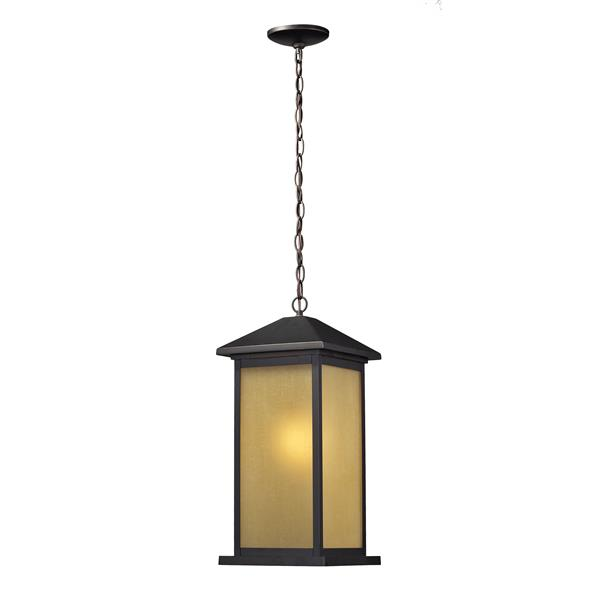 Z-Lite Vienna Outdoor Suspended Light - Oil Rubbed Bronze