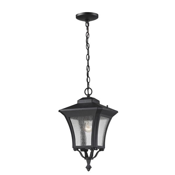 Z-Lite Waterdown Outdoor Suspended Light - Sand Black